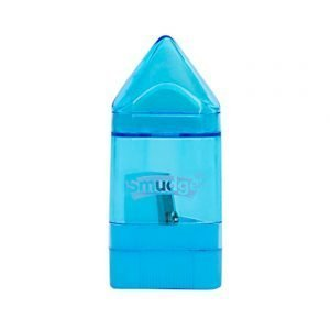 Eraser/ Sharpener Combo - Blue