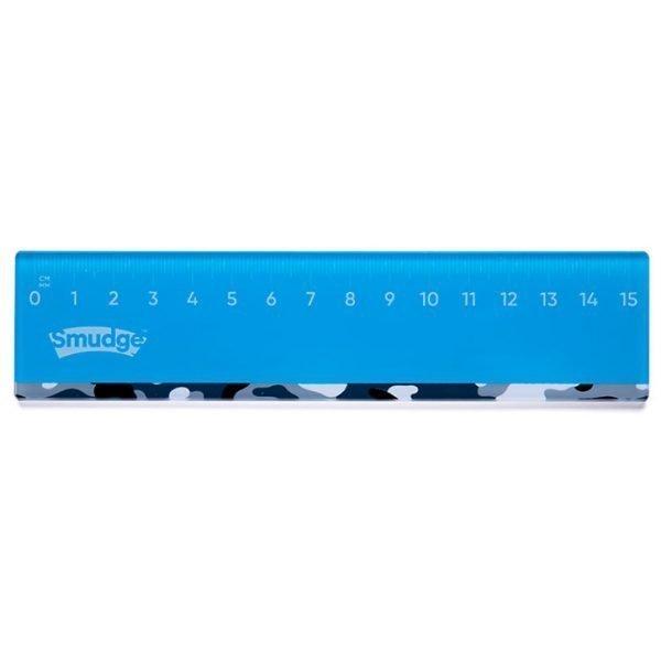 Mixed Stationery - Camo 15cm Acrylic Ruler