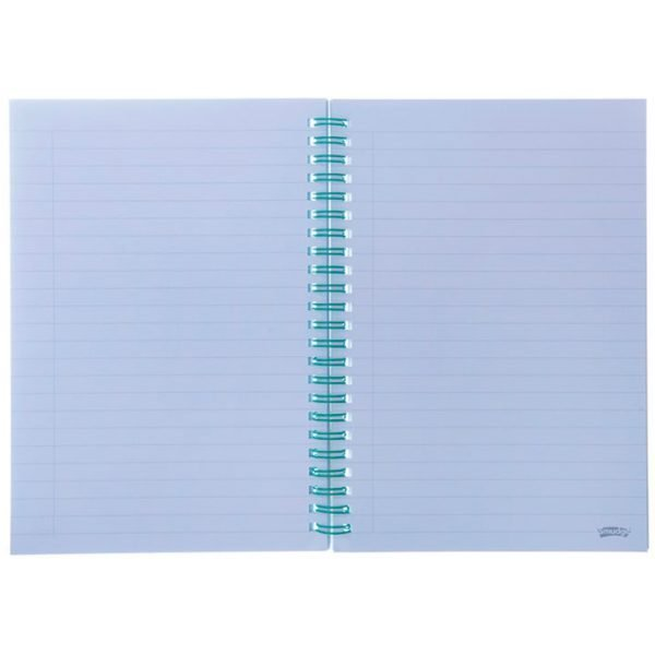 WebsiteA5 rings notebook 5 2 600x600 - Live Loudly A5 Spiral Notepad