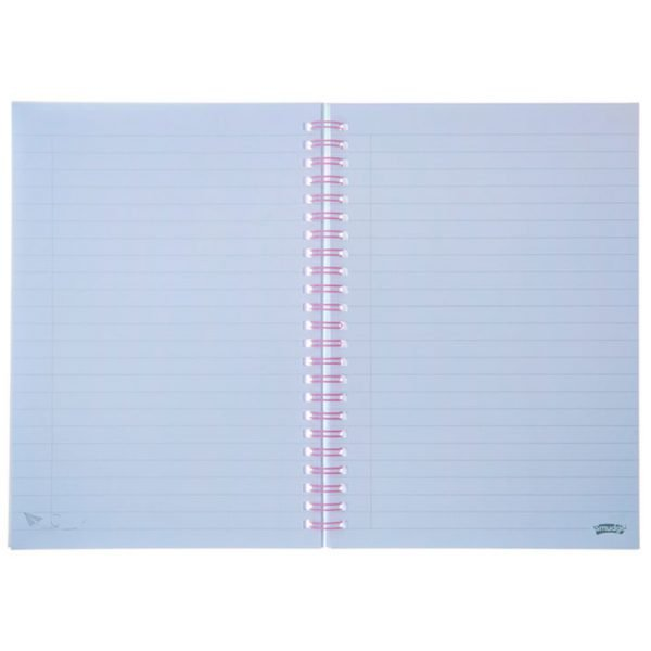 WebsiteA5 rings notebook 8 2 600x600 - Over The Rainbow A5 Spiral Notepad