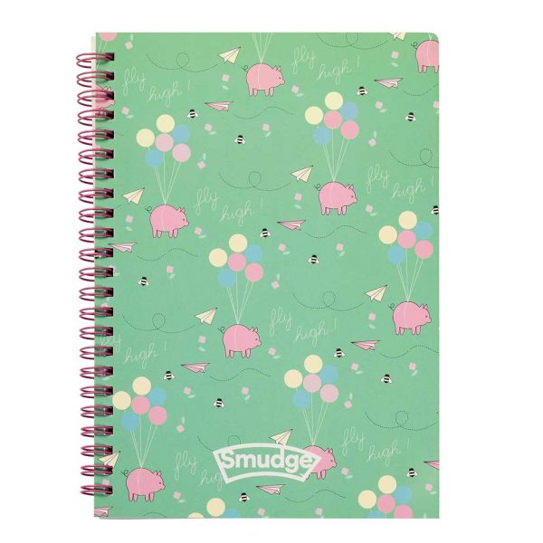 Over The Rainbow A5 Spiral Notepad