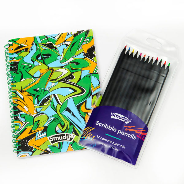 Live Loudly Spiral Notebook Scribble Pencil Set 1024x1024 600x600 - Live Loudly Spiral Notebook & Scribble Pencil Set