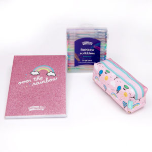 Over The Rainbow Premium Notebook Pencil Case Set 1024x1024 300x300 - Back to school stationery