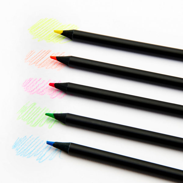 Scribble Pencils 3 1024x1024 600x600 - Mini Monster Spiral Notebook & Scribble Pencil Set
