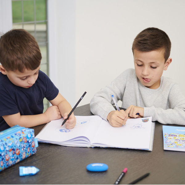 SMDG12535 Lifestyle Chosen 0018 Untitled Session2802 1024x1024 600x600 - Mini Monsters Premium Notebook & Pencil Case Set