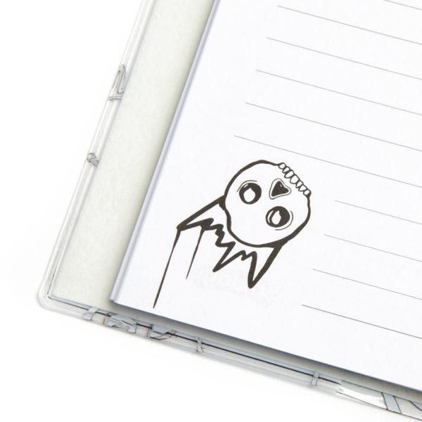 SMDG15750 Skulls Notebook 1024x1024 5 copy 600x600 - Queen Of Skulls A4 Premium Notebook
