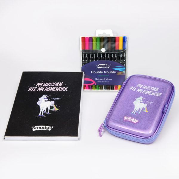 SMDG15804 My Unicorn Ate My Homework Premium Notebook Pencil Case Set 2560 600x600 - My Unicorn Ate My Homework Premium Notebook & Pencil Case Set
