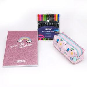 SMDG15804 Over the Rainbow Premium Notebook Pencil Case Set 2560 300x300 - Over The Rainbow Premium Notebook & Pencil Case Set